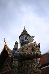 Wat Phra Sri Rattana Satsadaram, Bangkok, Thailand (takochiyo) Tags: travel eos bangkok thai fullframe  6d