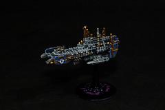 Astartes Strike Cruiser (AdmGR) Tags: painting miniature model warhammer battleship ultramarine wargame cruiser warhammer40000 warhammer40k gamesworkshop wh40k spacemarine battlecruiser ultramarines battlefleetgothic strikecruiser