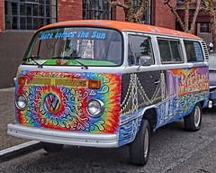 Haight Ashbury Relic? (DASEye) Tags: sanfrancisco california vw nikon 60s hippie psychadelic microbus vwmicrobus dayseye davidadamson