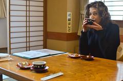 Tea Ceremony II (malinowy) Tags: winter portrait japan 35mm nikon tea ceremony nippon nikkor tee zima narita herbata sylwia naritasan honshu japonia malinowy d7000 shinshōji malinowynet