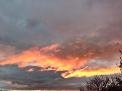 Matin du 18/12/14 (karine_avec_1_k) Tags: cloud sun sunrise rouge soleil nuage