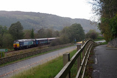 Up the valley - 57302, 37419 and 37682 (TheRoute19) Tags: