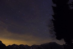 Light pollution (Laura Povolo) Tags: light sky nature stars landscape pollution veneto recoaromille recoaro