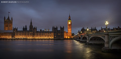 The Houses or Parliament (Rob Grainger) Tags: bridge houses london robert westminster thames architecture night buildings river photography lights big twilight ben parliament rob grainger