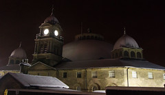 The Devonshire Dome (eddiesniper) Tags: christmas winter snow architecture buxton derbyshire dome devonshire