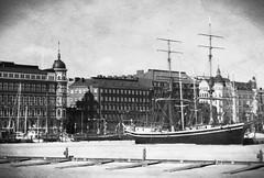 Romantic Harbour View (mavmanc14) Tags: travel sea bw ice architecture helsinki ship pirates adventure romantic rum