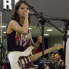 Juliana Vieira live at Fender Day - Made in Brazil Music Store, Sao Paulo - Brazil (Roberto Sant'Anna) Tags: brazil music brasil store guitar sp rbsantanna