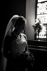 Danielle (Jen MacNeill) Tags: wedding people blackandwhite bw lebanon church bride pennsylvania marriage wed chapel pa lancaster weddingphotography
