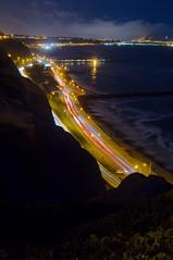 Costa Verde de noche, Lima, Peru (Martintoy) Tags: peru lima nocturna costaverde largaexposicion