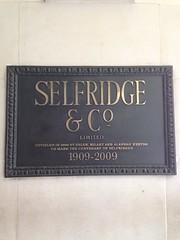 Selfridges!