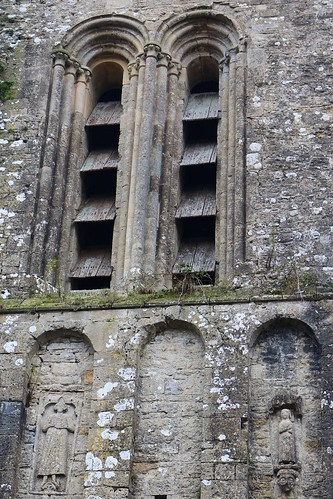 Détails, église de Saint-Marcouf (XIIIe), Manche, Normandie, France