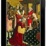 Adoration on an iPad, after Absolon Stumme 1499 thumbnail