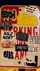 One of those slaps is super hard (assasz1n) Tags: sign graffiti sticker artists slap slaptag