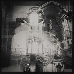 I'm falling down a spiral, destination unknown, a double-crossed messenger, all alone. (enrique_vega_photography) Tags: noir mysterious ghosts daguerreotype supernatural phantasm exorcism noircinema