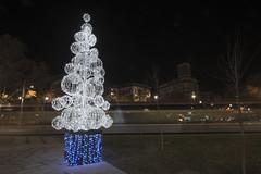 Aire de Navidad (Photo Sonntags) Tags: navidad zaragoza tranva arboldenavidad