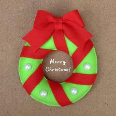 NATAL 2014  (M.Kuwahara) Tags: christmas natal felt guirlanda feltro guirlandadenatal marciakuwahara