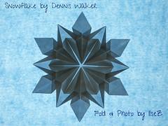 Snowflake by Dennis Walker (esli24) Tags: snowflake christmas weihnachten star origami stern papierfalten denniswalker esli24 ilsez