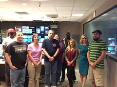 Karen Brown Channel 3 Phoenix in KTVK Control Room (karenbrowntv) Tags: phoenix az 3tv channel3 karenbrown ktvk