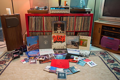 RUSH (DjD-567) Tags: red toronto rock power mercury cd library vinyl signals rush lp archives trio soundsystem hifi progressive marantz movingpictures hemispheres expedit flybynight 6300 2285 holdyourfire powerwindows graceunderpressure afarewelltokings permantentwaves