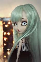 Luna [Pullip Lunatic Queen] (Dekki) Tags: fashion asian doll eyelashes luna queen planning groove lunatic jun junplanning rewigged rechipped