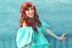 IMG_3672 (disneylandings) Tags: ariel face disneyland character disney belle grotto cinderella tiana rapunzel ariels