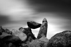 Rock Hard (filipekmatt) Tags: longexposure bw art rock nude landscape photography photo blackwhite texas slow unitedstates image fine hard shutter phallic bigbendnationalpark imagery balancedrock