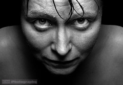 I am watching you! (C.M_Photography) Tags: face lady scary creepy spooky ghostly shivers daunting