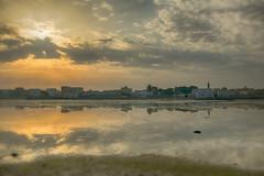 Alhalat (heshaaam) Tags: sea sun clouds bahrain muharraq halat alhalat