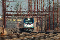 Amtrak 622 @ Cornwells Heights (Darryl Rule's Photography) Tags: bristol trains amtrak septa levittown northeastcorridor aem7 pennsylvaniarailroad pennsy tullytown cornwellsheights northeastregional acs64