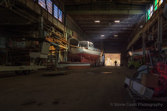 In the Spotlight at The Portland Company (ellahMaine) Tags: portland boats maine worn weathered theportlandcompany
