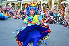 FoF - Storybook (EverythingDisney) Tags: girls girl circus dancer disney parade disneyworld wdw waltdisneyworld performer storybook magickingdom fof festivaloffantasy chachabingo