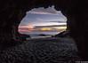 Tunnel Vision (Eric Zumstein) Tags: ocean sky beach clouds rocks tunnel leocarrillostatebeach malbu