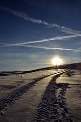 snow (Petar Tosic) Tags: road winter sky sun white snow cold serbia srbija zlatibor