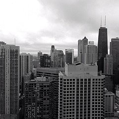 The City (photophile2012) Tags: city sky chicago building tower skyline architecture skyscraper buildings landscape photography cityscape phone aerialview landmark aerial openhouse iphone phoneography chitecture iphone5 iphoneography igraphy