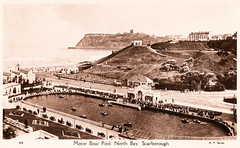 Scarborough - Motor Boat Pool (pepandtim) Tags: old lake pool by swimming 1936 dawn bay boat early bill uncle postcard auntie north nostalgia lincoln nostalgic series scarborough motor ay peggy manor thursday sylvia misses spital bayles normanby 08091936 22mbp77