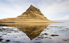 Kirkjufell (RobGrahamPhotography) Tags: sea mountain west nature canon landscape landscapes iceland outdoor calm kirkjufell snfellsnes westfjords peninsular grundarfjrur canon6d