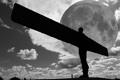 day and night (spencerrushton) Tags: wood sky people blackandwhite moon white black beautiful canon outdoors scotland spencer 1022mm manfrotto angelofthenorth monocrome rushton canonlens 600d manfrottotripod canon600d spencerrushton 760d canon760d