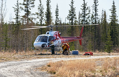 Stephen M. Fochuk Madeline Lake Forest Fire Day 2 (Stephen M. Fochuk) Tags: helicopter forestfire northwestterritories enr madelinelake aerospatialeas350b2 canadianhelicopterslimited nwtfire cgtvh firezf001