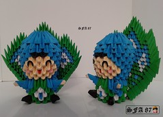 Peacock Kid Origami 3d (Samuel Sfa87) Tags: cute animal 3d kid origami arte handmade bambini crafts artesanato craft peacock suit pa sfa fantasia bimbo block animale artisan pavao peacocks bimba pavone kawai bimbi bambina bambino pavão pavoni arteempapel pavões fantasiado blockfolding origami3d masquerado sfaorigami sfa87 arteconlacarta