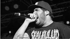 Shout to the world (tobiaspriwall) Tags: blackandwhite music black metal nikon shot emotion live band heavymetal hate microphone nikkor tobias shout hessentag priwall d5200 shatteredlions tobiaspriwall