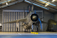 BAC Lightning F6 - 46 (NickJ 1972) Tags: night photo shoot photoshoot aviation ground nightshoot lightning lpg js proving bac 2016 f6 englishelectric britishaircraftcorporation bruntingthorpe xr728