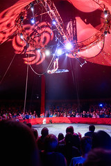 (Peter-Durrant) Tags: light shadow people dark high wire audience circus sony crowd performance indoor drop tent ring acrobat performer height hold bigtop acrobatic llantwitmajor rx100 zyair rx100m4 rx100iv circuszyair