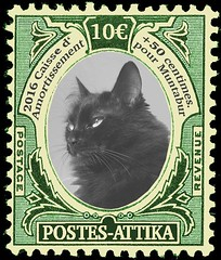 commemorative stamps for muntabur cathedral fund (lord_tarris) Tags: cat kitten stamp katze briefmarke francobolli muntabur