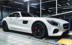 Mercedes AMG GT S (Thomas_982) Tags: cars mercedes amg gts indoor white germany