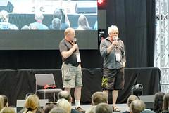 Zwei Klingonen Darsteller (Michaela-W) Tags: startrek stuttgart convention klingon comiccon messe comicon