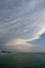 Fort Walton Beach, Florida (fisherbray) Tags: sky usa storm gulfofmexico water pier nikon wasser unitedstates florida thunderstorm fishingpier fortwaltonbeach ftwaltonbeach okaloosaisland fortwalton fwb emeraldcoast okaloosacounty d5000 fisherbray