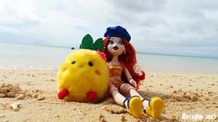 Meygana Broomstix at Sunset Beach III (Mecaglup) Tags: beach japan outdoors doll mga bratz bratzillaz meygana