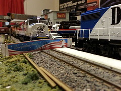 BN 1991 July 4th (Trains By Perry) Tags: hoscale ho danforth 4thofjuly 4thofjuly2016 independenceday emd sd60m burlingtonnorthern bn 1991
