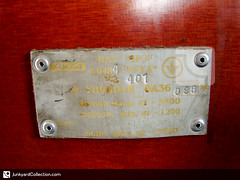 Ruta A048 /  A048 (junkyardcollection) Tags: ruta number vin idtag numberplate vintag typenschild idplate  vinplates serialnumberplate numerodechassis rutaa048 048