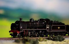 British Railway N Class Mogul (sheedypj) Tags: model br n railway crest class late mogul ngauge grahamfarish
